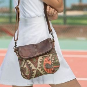 *COMING SOON* UPCYCLED CANVAS & LEATHER CROSSBODY